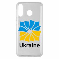 Чехол для Samsung M30 Ukraine квадратний прапор