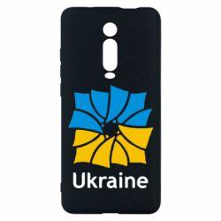 Чехол для Xiaomi Mi9T Ukraine квадратний прапор
