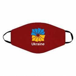 Маска для лица Ukraine квадратний прапор