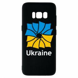 Чехол для Samsung S8 Ukraine квадратний прапор