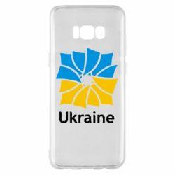 Чехол для Samsung S8+ Ukraine квадратний прапор