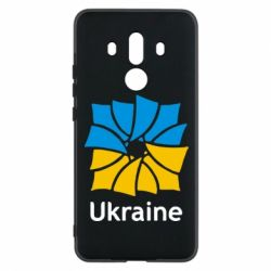 Чехол для Huawei Mate 10 Pro Ukraine квадратний прапор - FatLine