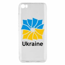 Чехол для Xiaomi Xiaomi Mi5/Mi5 Pro Ukraine квадратний прапор - FatLine