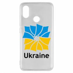 Чехол для Xiaomi Mi8 Ukraine квадратний прапор