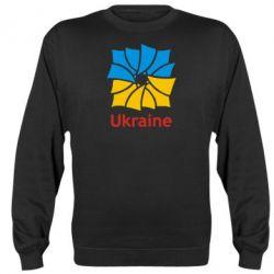 Реглан (свитшот) Ukraine квадратний прапор