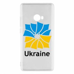 Чехол для Xiaomi Mi Note 2 Ukraine квадратний прапор