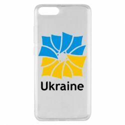 Чехол для Xiaomi Mi Note 3 Ukraine квадратний прапор