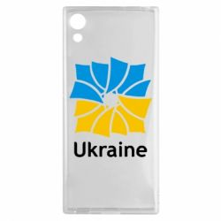 Чехол для Sony Xperia XA1 Ukraine квадратний прапор - FatLine