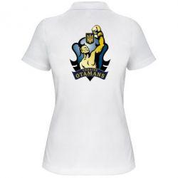 Женская футболка поло Ukraine Otamans - FatLine