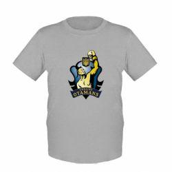 Детская футболка Ukraie Otamans - FatLine