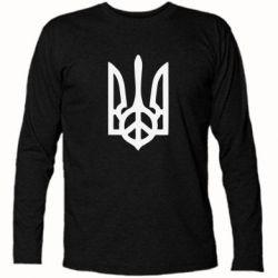 Футболка с длинным рукавом Ukraine Peace - FatLine
