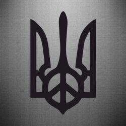 Наклейка Ukraine Peace