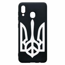 Чехол для Samsung A20 Ukraine Peace