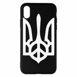 Чехол для iPhone X/Xs Ukraine Peace