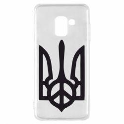 Чехол для Samsung A8 2018 Ukraine Peace