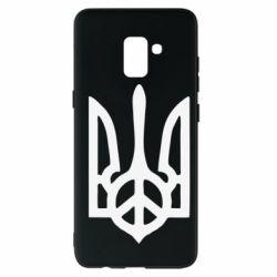 Чехол для Samsung A8+ 2018 Ukraine Peace