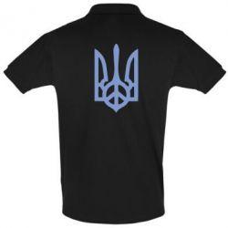 Мужская футболка поло Ukraine Peace