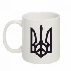 Кружка 320ml Ukraine Peace - FatLine