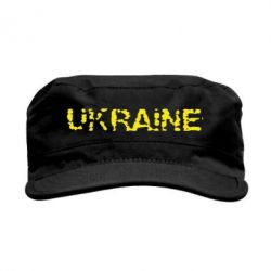 Кепка милитари Ukraine (потрісканий напис) - FatLine