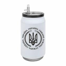 Термобанка 350ml Ukraine stamp
