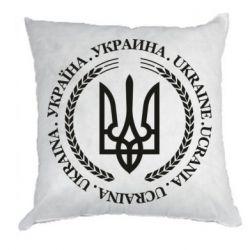 Подушка Ukraine stamp