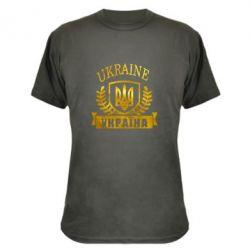 Камуфляжная футболка Ukraine Украина Голограмма