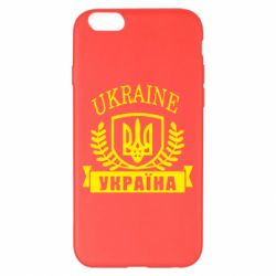 Чохол для iPhone 6 Plus/6S Plus Ukraine Україна