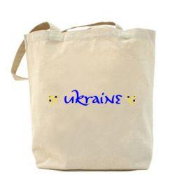 Сумка Ukraine вишиванка - FatLine
