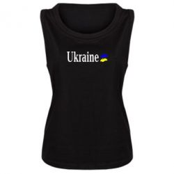Женская майка Ukraine - FatLine