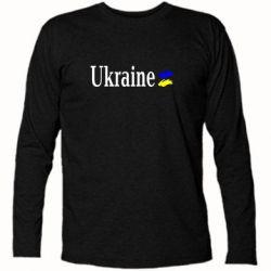 Футболка с длинным рукавом Ukraine - FatLine