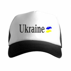 Кепка-тракер Ukraine - FatLine