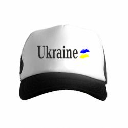 Детская кепка-тракер Ukraine