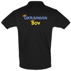 Футболка Поло Ukrainian Boy - FatLine