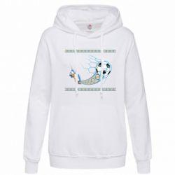 Женская толстовка Ukrainian football