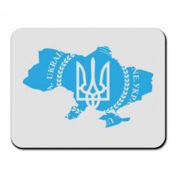 Коврик для мыши Ukrainian Map - FatLine
