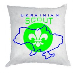 Подушка Ukrainian Scout Map - FatLine