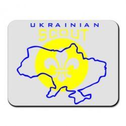 Коврик для мыши Ukrainian Scout Map - FatLine
