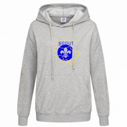 Женская толстовка Ukrainian Scout Map - FatLine