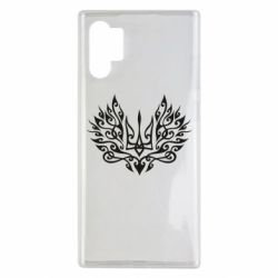 Чохол для Samsung Note 10 Plus Ukrainian trident with a pattern