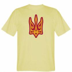 Чоловіча футболка Ukrainian trident with contour