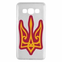 Чохол для Samsung A3 2015 Ukrainian trident with contour