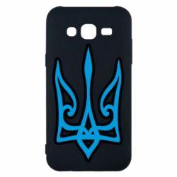 Чохол для Samsung J5 2015 Ukrainian trident with contour