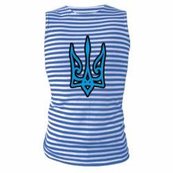 Майка-тільняшка Ukrainian trident with contour