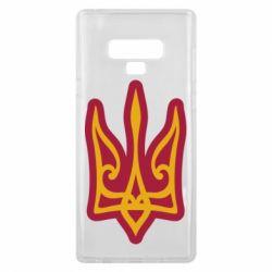Чохол для Samsung Note 9 Ukrainian trident with contour