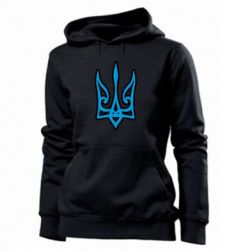 Толстовка жіноча Ukrainian trident with contour