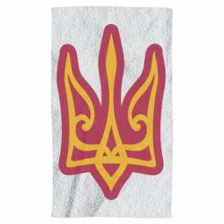 Рушник Ukrainian trident with contour