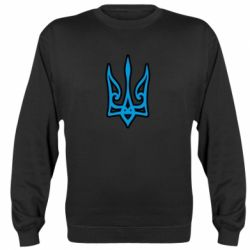 Реглан (світшот) Ukrainian trident with contour