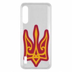 Чохол для Xiaomi Mi A3 Ukrainian trident with contour