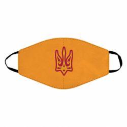 Маска для обличчя Ukrainian trident with contour