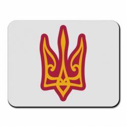 Килимок для миші Ukrainian trident with contour